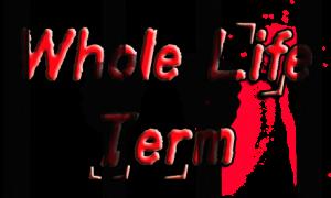 whole life term